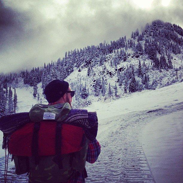 Hiking Stevens