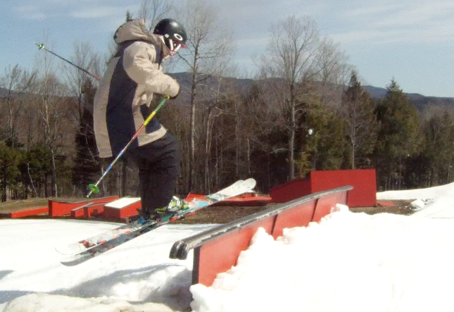 Double bar at Sunday River