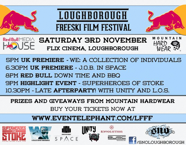 Loughborough Freeski Film Festival