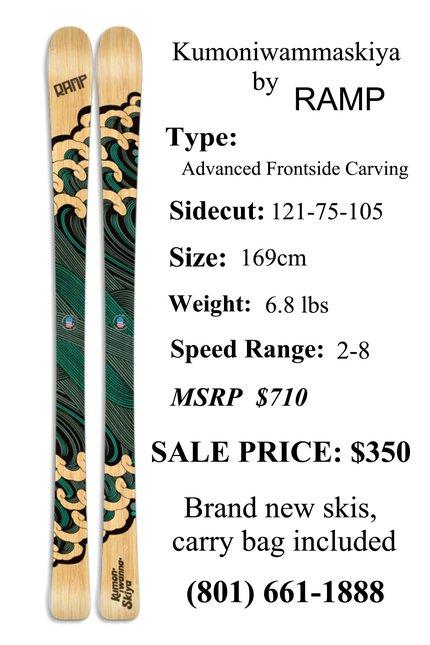 Ramps Skis $350