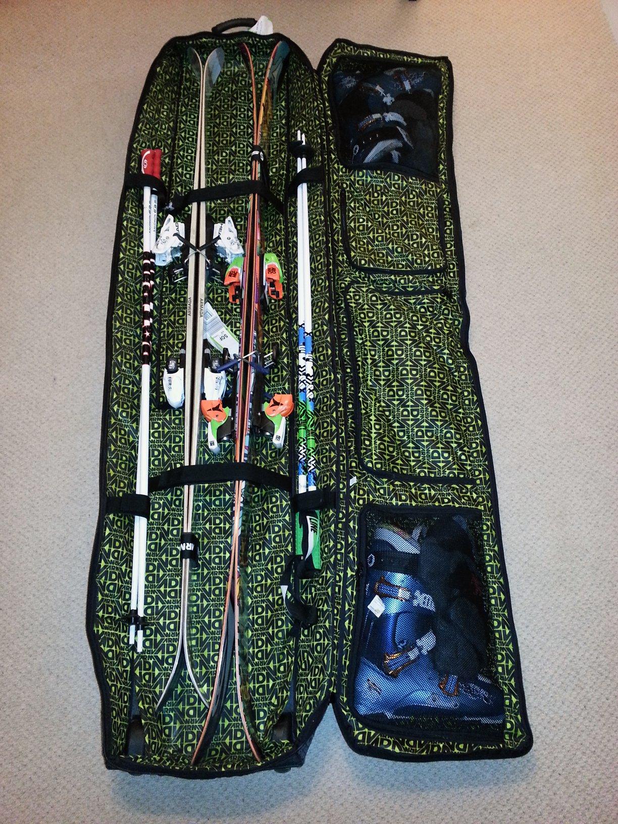 Armada Anchorage Bag Packing