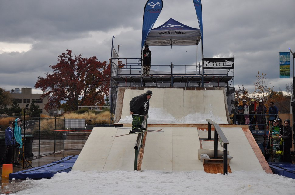 shred the shore railjam