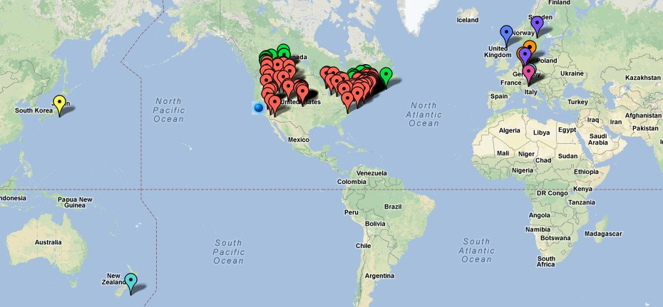 Santa Secret Map.