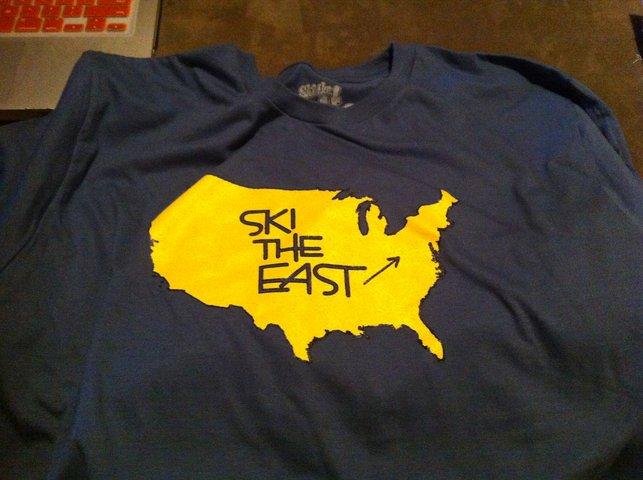 Ski The East shirt