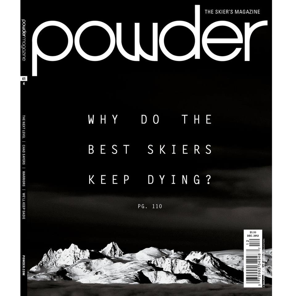 December cover of POWDER