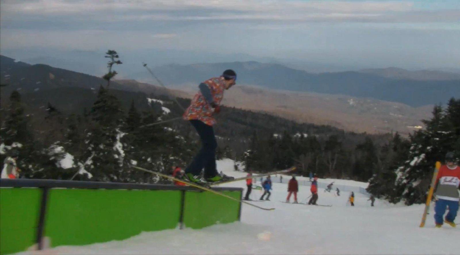 Forgot my park skis