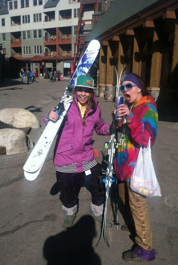 Going skiing at Keystone