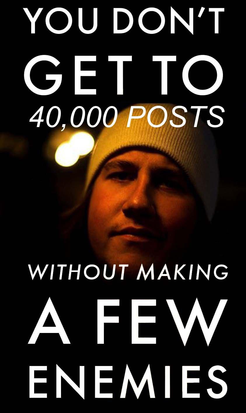 40,000 Posts