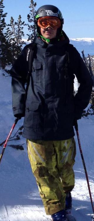 me skiin hahahaha
