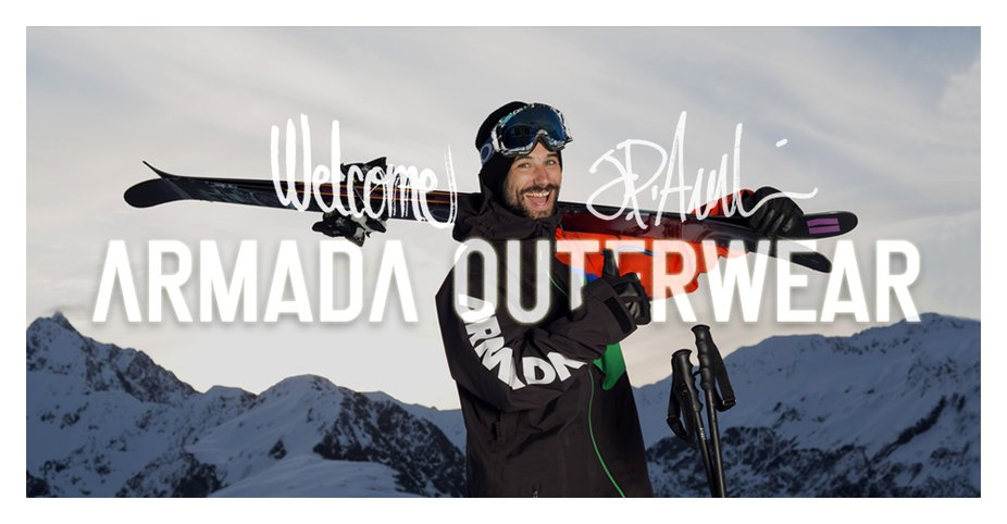 JP Auclair Joins Armada Outerwear