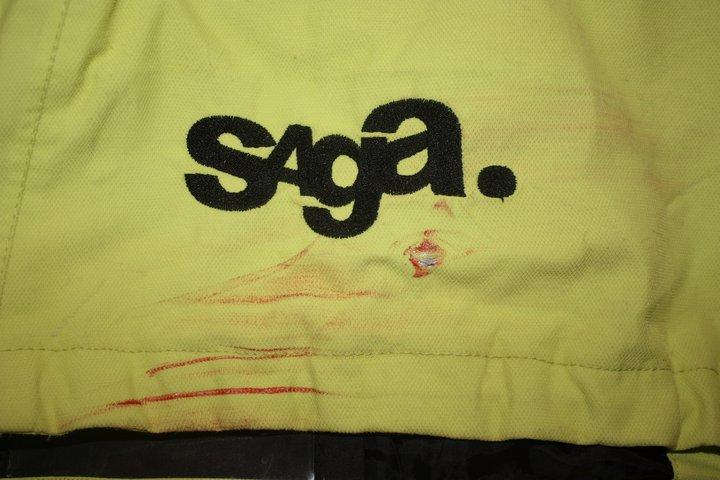 Saga Ecto rail stain