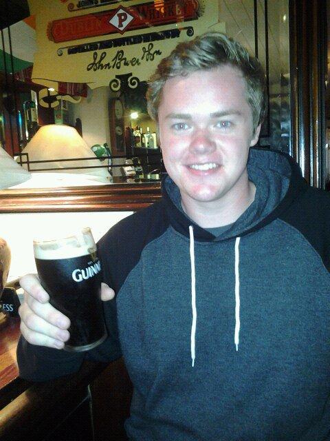 First Guinness in Dublin