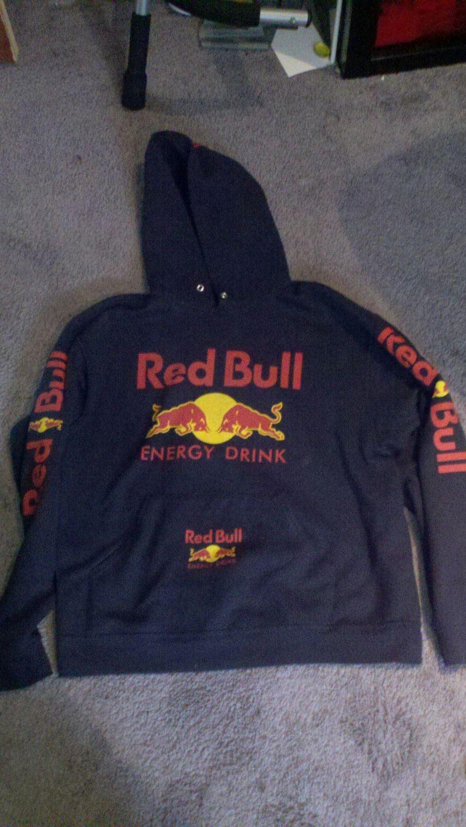 red bull hoodie