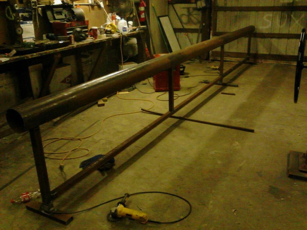 6 inch round bar fab