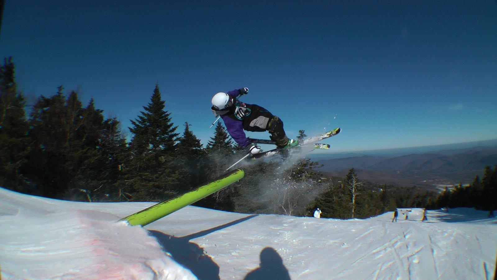 Pole Jam Under Flip