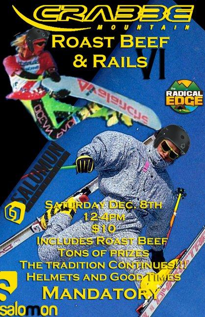 Roast Beef and Rails VI
