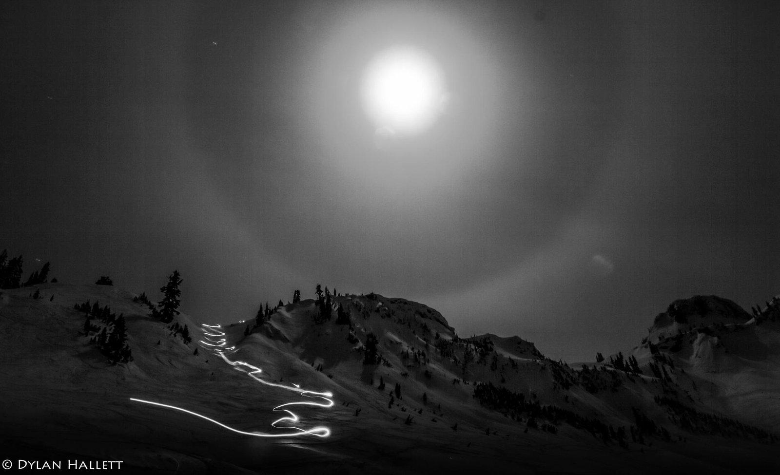 Moonlight pow turns
