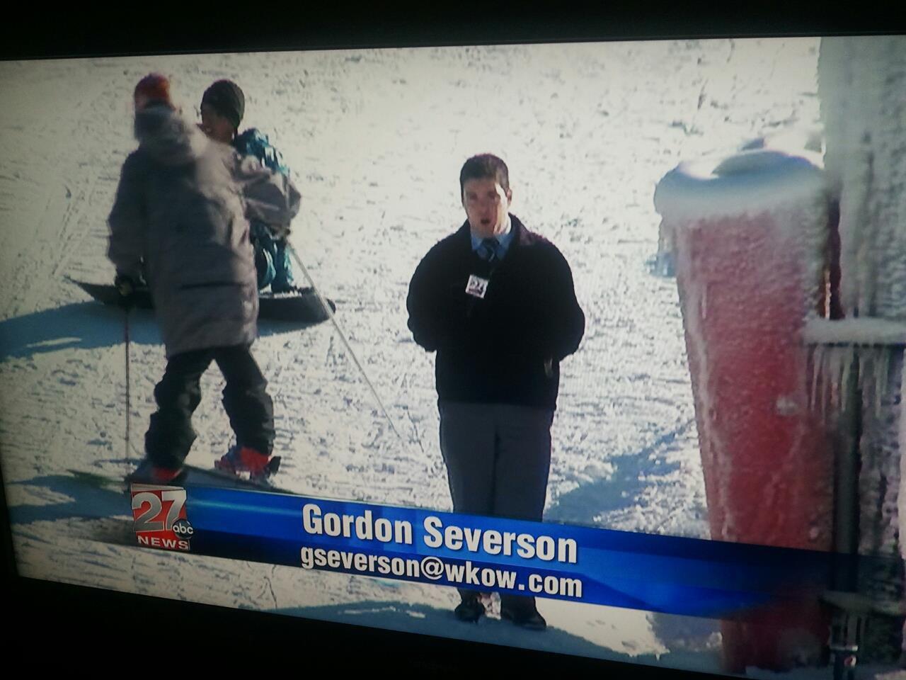 LOL im on the NEWS!