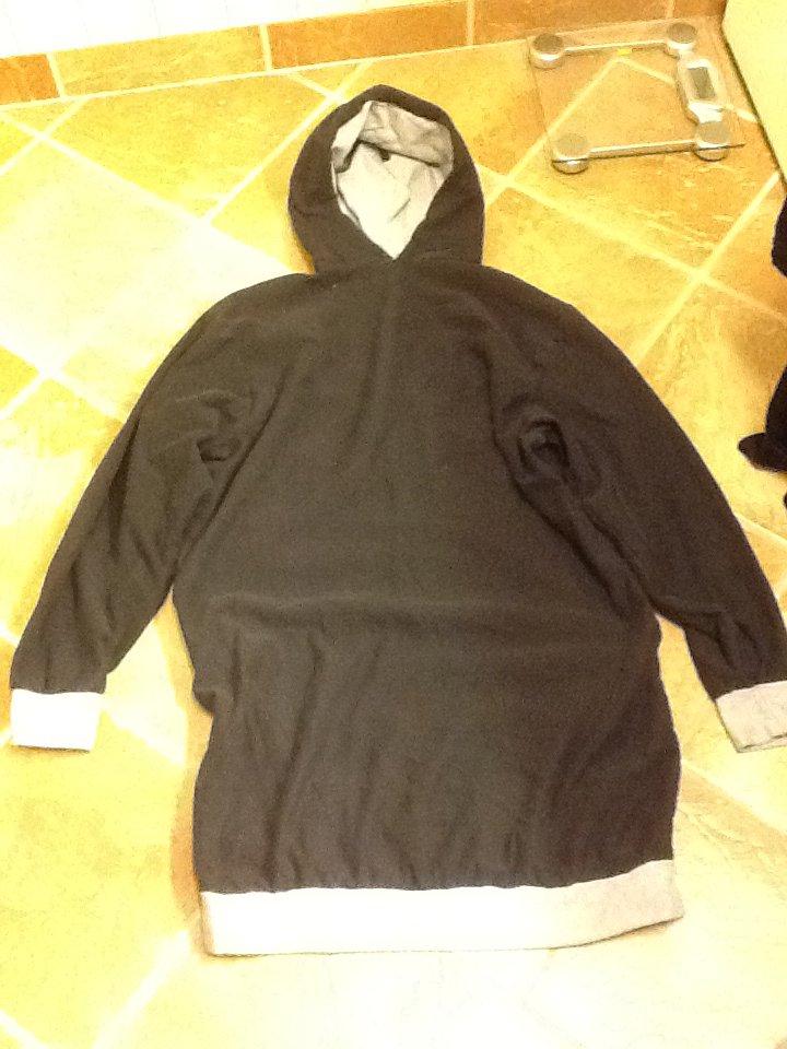 Homemade hoodie 2