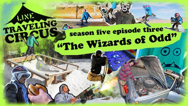 Line Traveling Circus - The Wizards of Odd