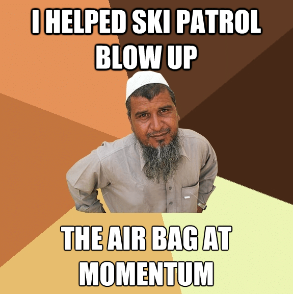 Ski meme for thread