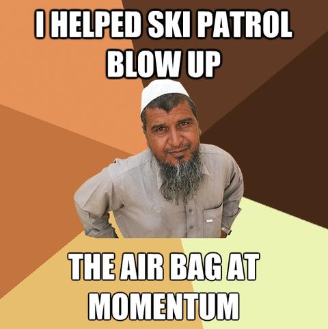 Ski meme for thread