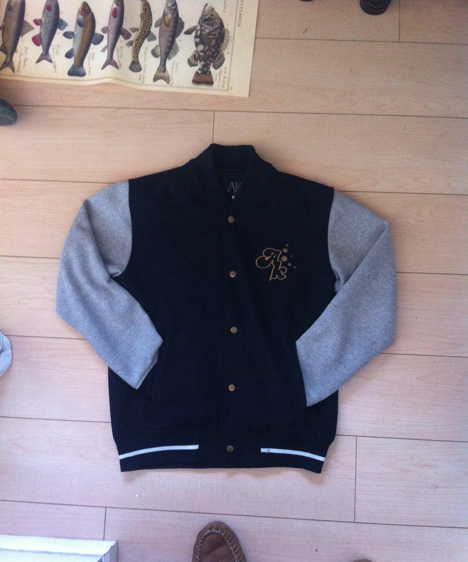 Akomplice Varsity Jacket $60