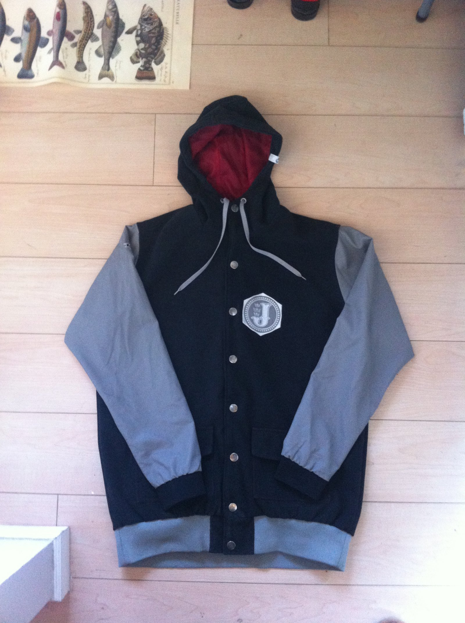 Jiberish Acadamy Jacket 2XL $60