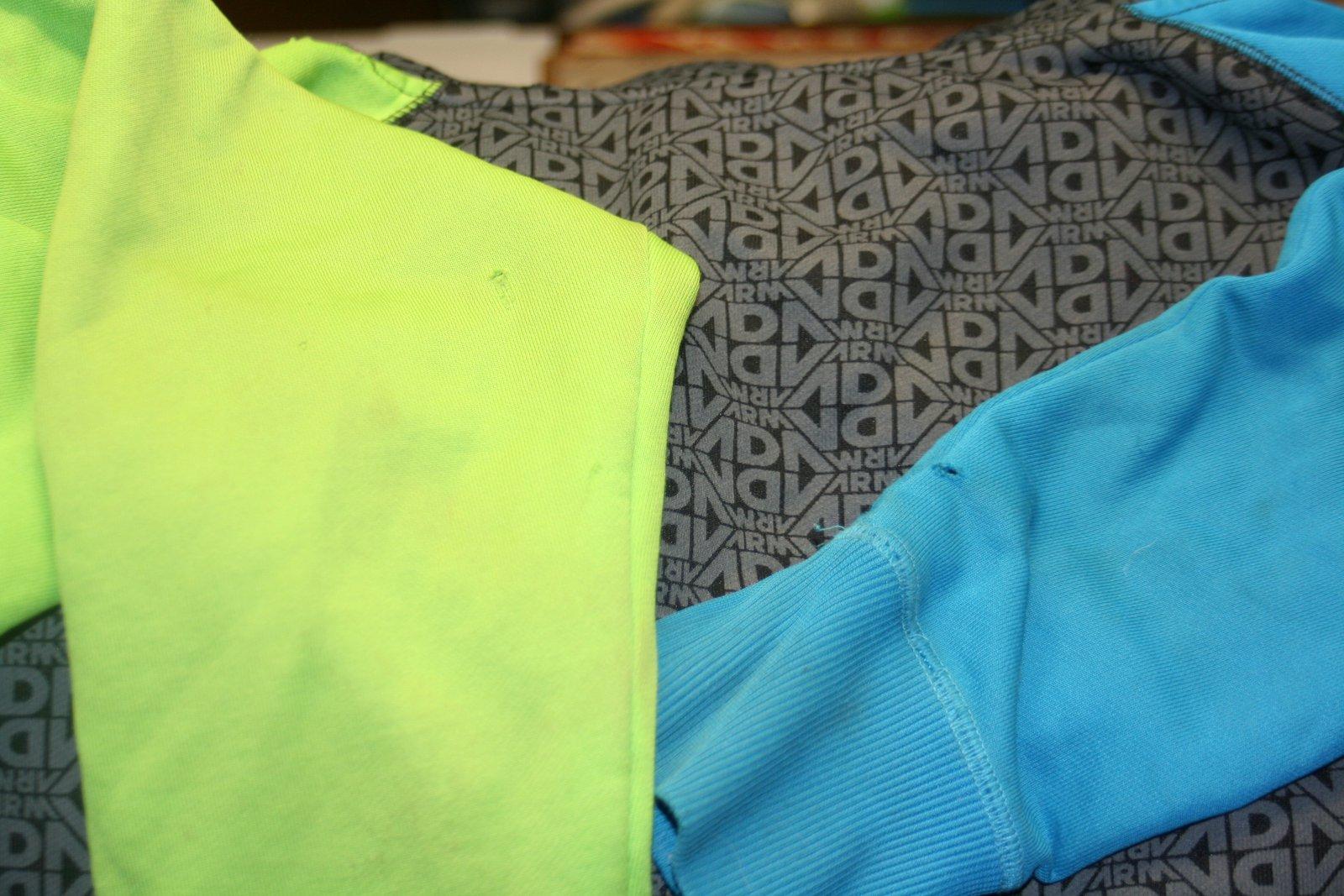 armada hoodie small holes