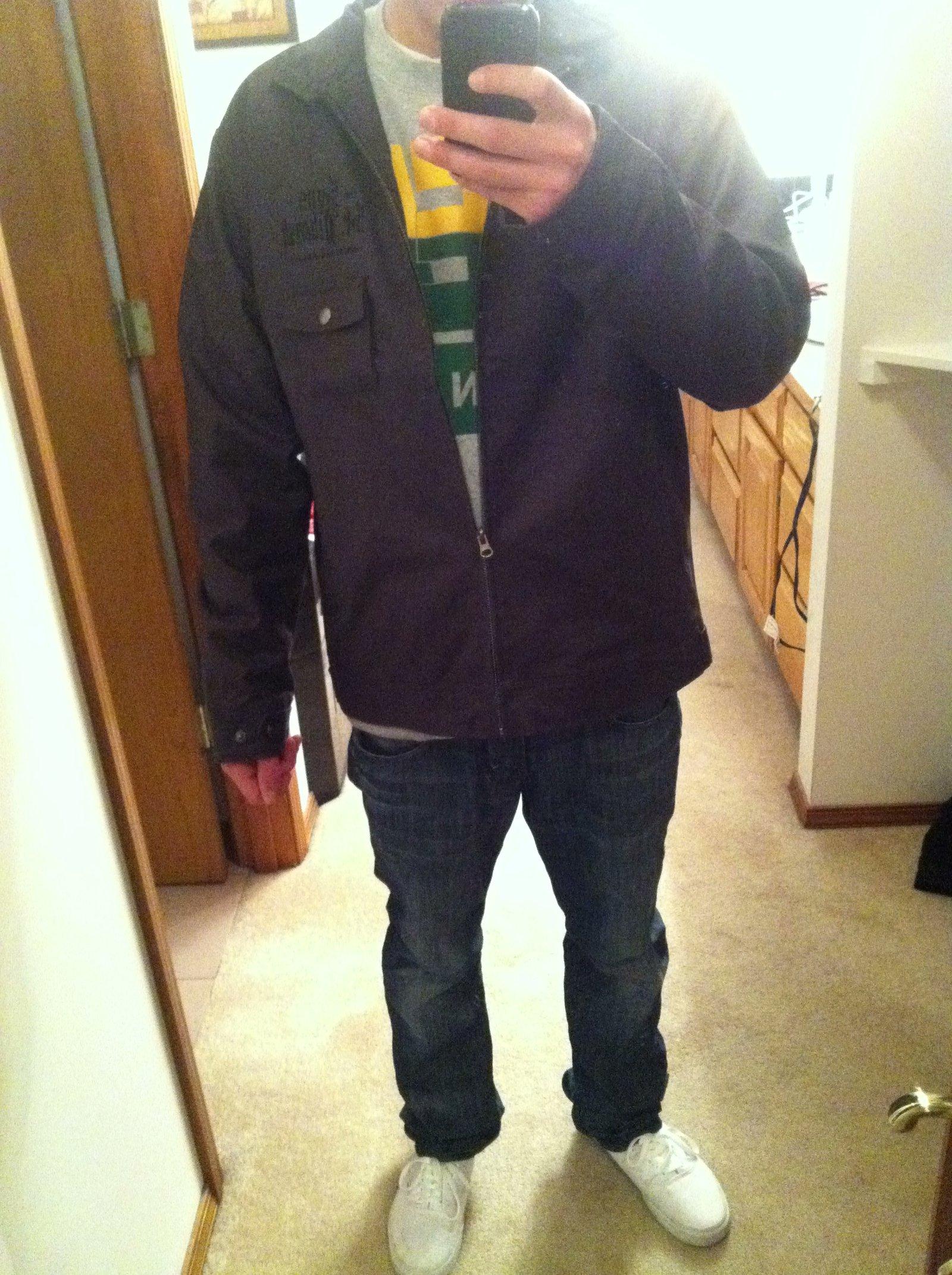 Free Jiberish jacket :)