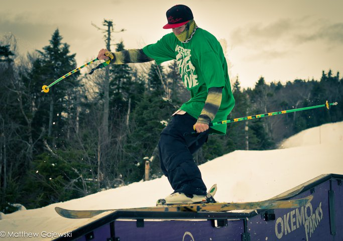 Andy Parry at Okemo