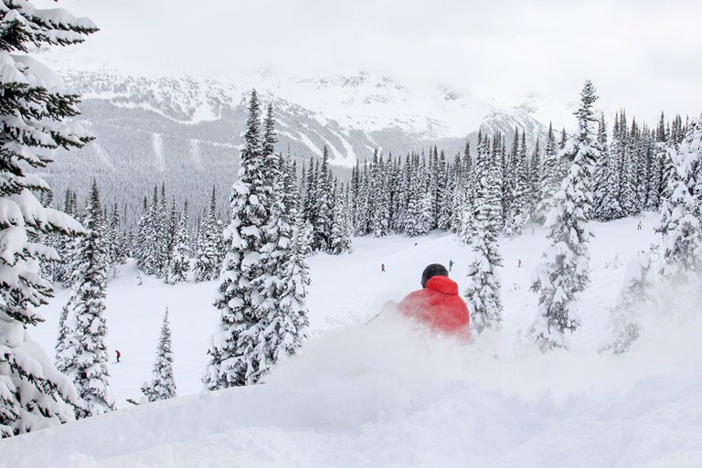 Whistler Blackcomb On Track For A Record-Breaking Snow Base