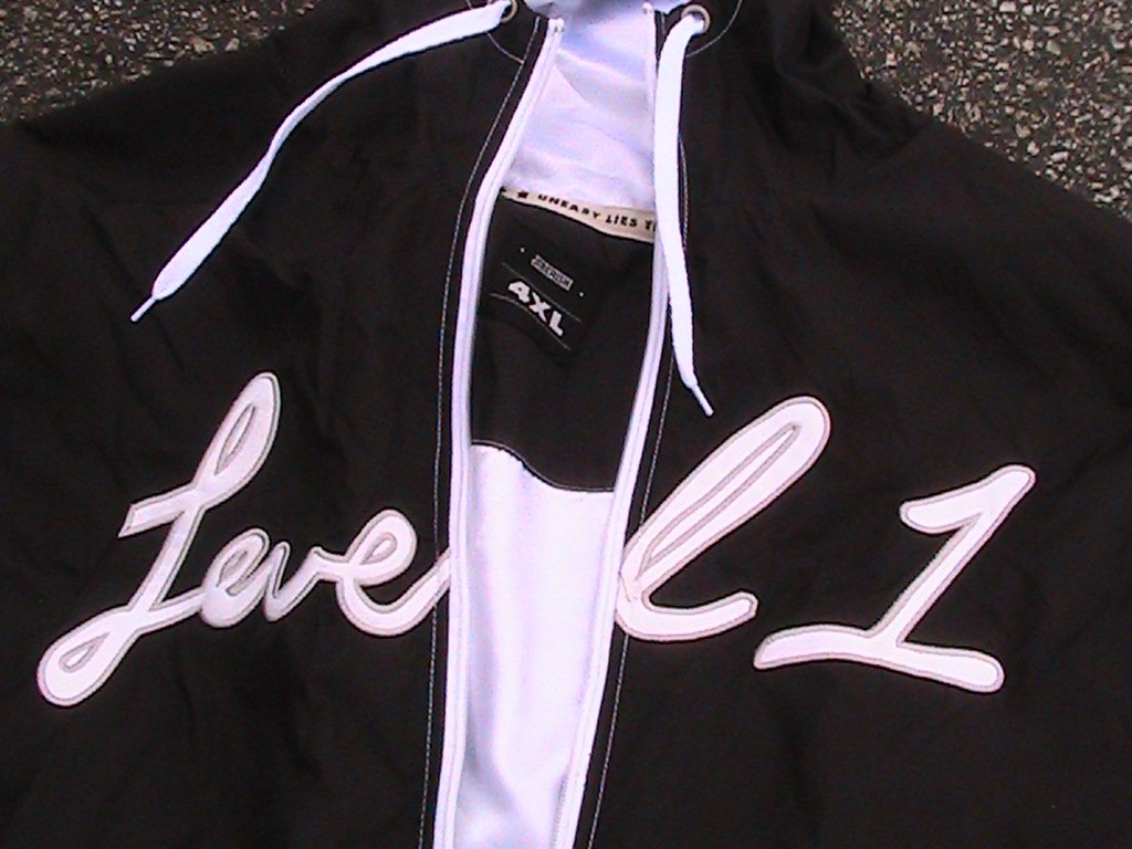 4xl level 1 x jiberish track jacket