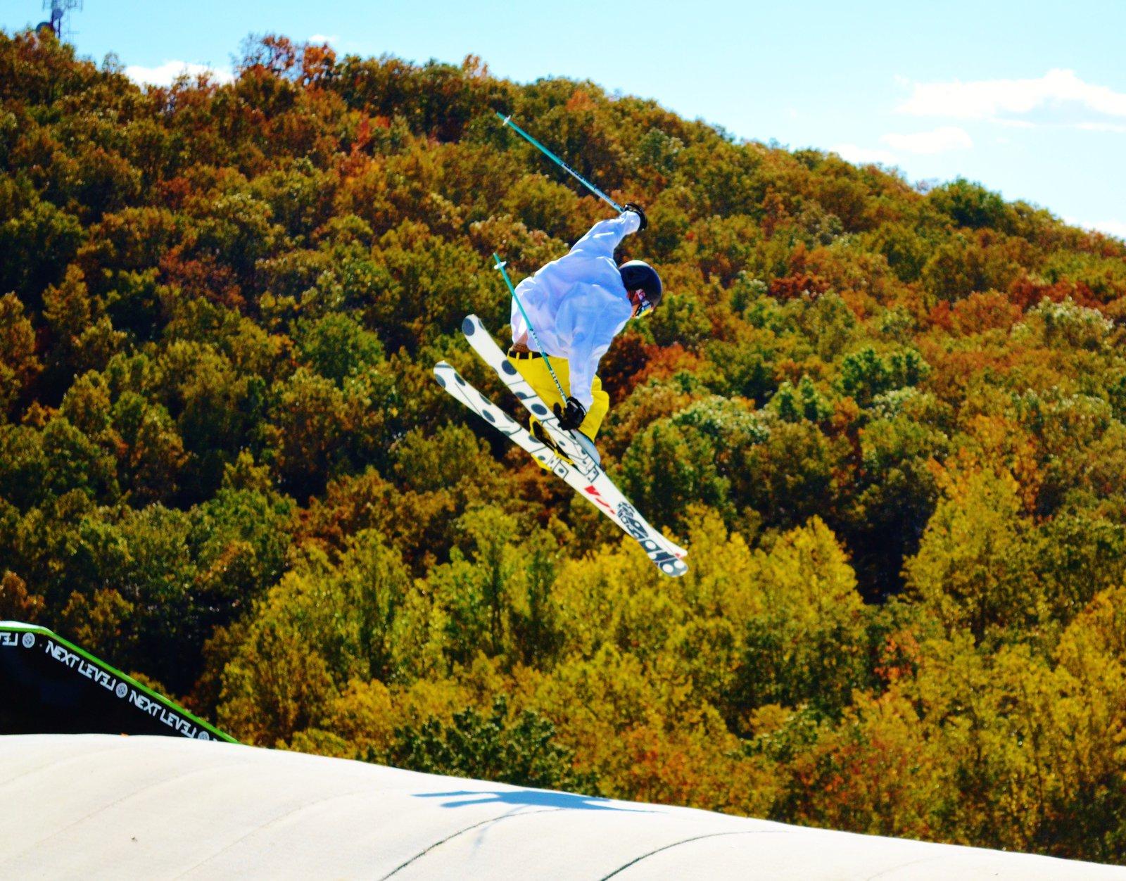 Nice fall day at Liberty Snowflex