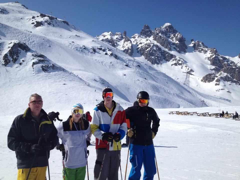 our holiday to meribel