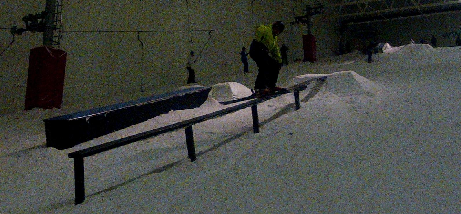 10 meter rail