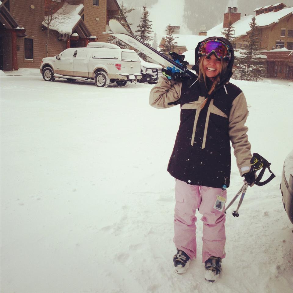 Ready to go ski some pow!