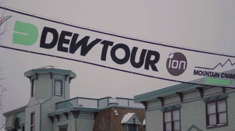 Dew Tour Slopestyle Course Preview