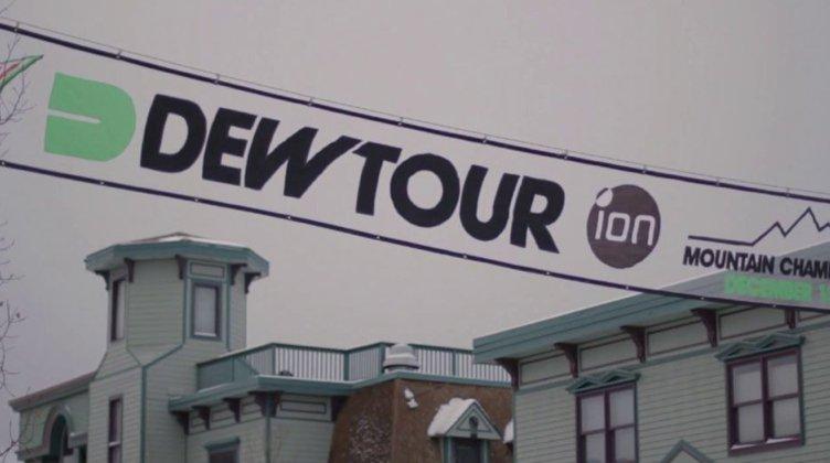 Dew Tour Slopestyle Course Preview