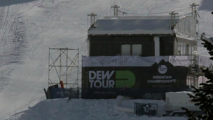 Dew Tour Halfpipe Preview