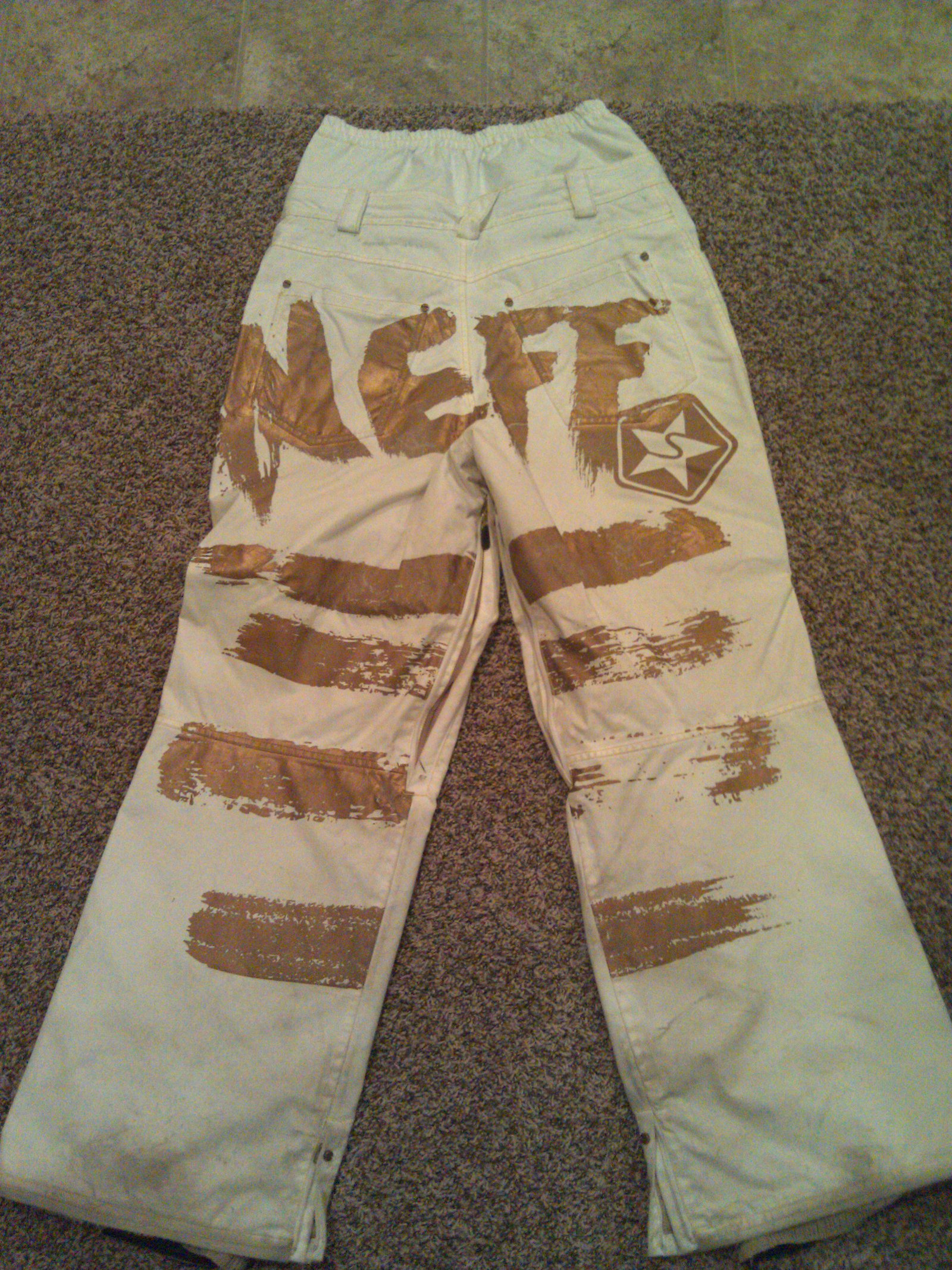 Sessions Neff Edition Pants back