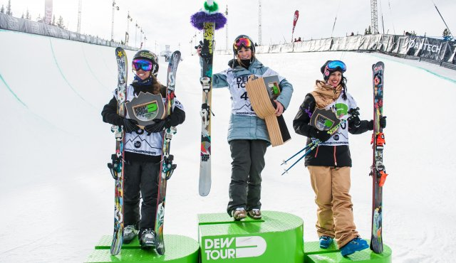 Dew Tour Women's Ski Halfpipe Finals