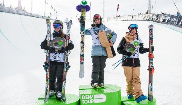 Dew Tour Women's Ski Halfpipe Finals