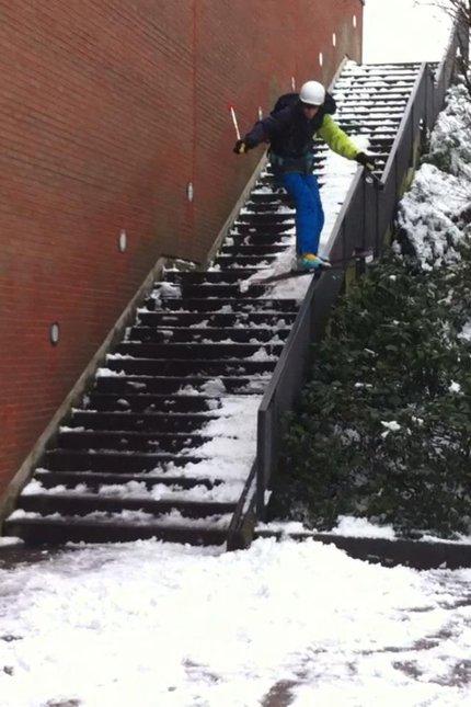 Uni Stairset Rail