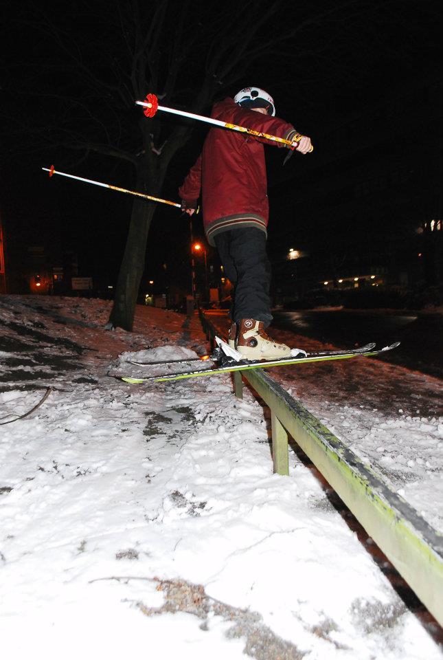 Urban Rail, Night shot