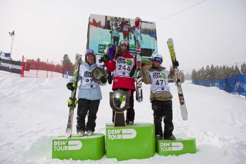 Dew Tour Women's Ski Slopestyle Finals