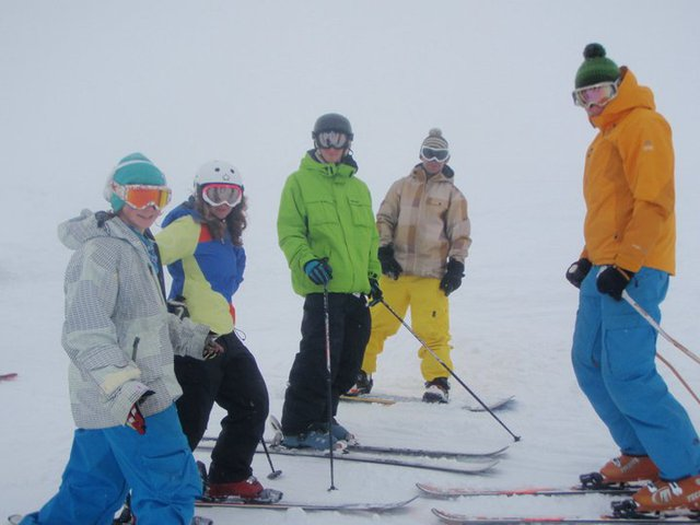skiing with the hobbits