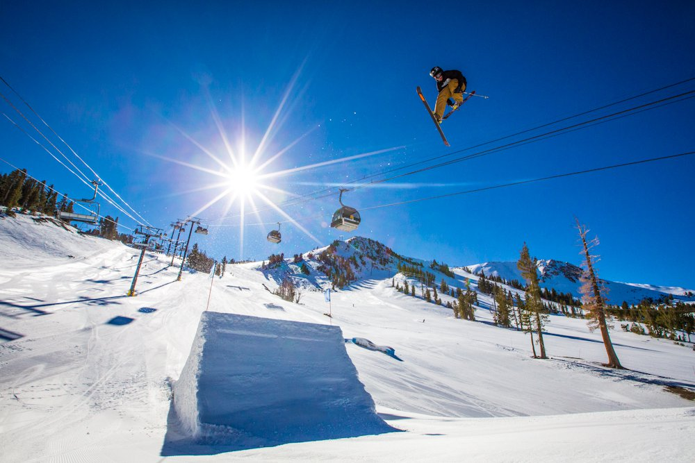US Freeskiing Team at Mammoth