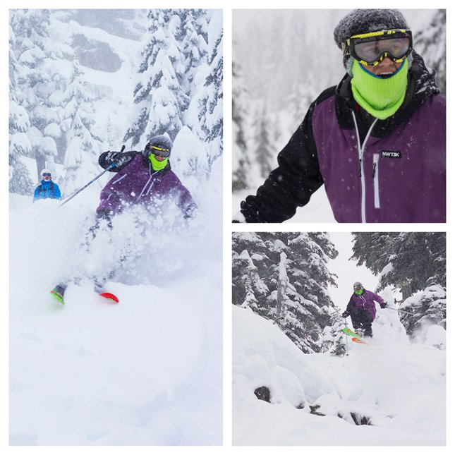 Face shots at Alpental