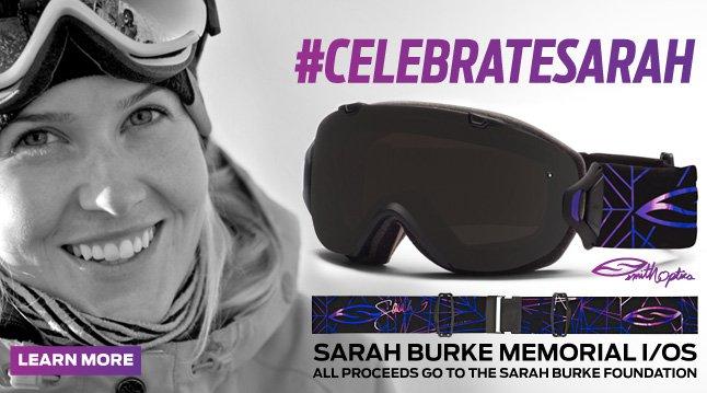 Sarah Burke Memorial Goggle